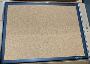 Quartet Classic Series Cork Bulletin Board 24x18 Black Aluminum Frame 2301B