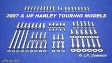 2017 HARLEY TOURING ULTRA ROAD KING STREET GLIDE POLISHED STAINLESS BOLT SET