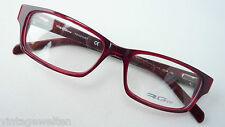 RG512 Seaport Herrenbrille  Plastik dunkelrot mit schmaler Glasform 51-15 Gr. S