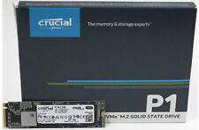 G.SKILL Crucial P1 500GB M.2 (2280) NVMe PCIe SSD - 3D NAND 1900/950 MB/s