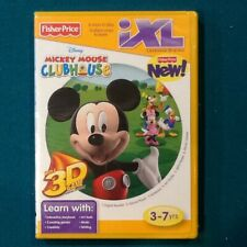 FISHER PRICE DISNEY MICKEY MOUSE CLUBHOUSE IXL LEARNING SYSTEM GAME