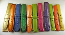 WHOLESALE LOT OF 11X AUTHENTIC TECHNOMARINE WATCH BANDS WITH GENUINE BUCKLES!!!