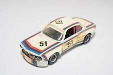 A13 1:43 SOLIDO BMW 3.0 CSL RALLY WHITE EXCELLENT CONDITION