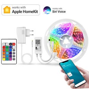 Apple Homekit WiFi Smart RGB LED Band Streifen Stripe Licht 5050SMD Komplett Kit