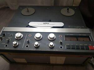 REVOX B77 MK II STUDER STEREO HIFI TAPE RECORDER MULTI VINTAGE MAGNÉTOPHONE