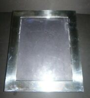 "Vintage Sterling Silver 925 Photo Frame by Valerio Albarello for 9"" x 7"" picture"