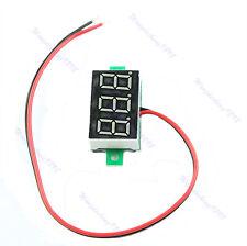LED DC3.0-30V Blue Volt Voltage Meter Display Digital Voltmeter Self-Powered 1pc