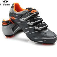 Tiebao Cycling Road Bike Shoes Professional Sports Lock Tread Bike Shoes Mens