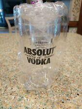 Absolute Vodka Bar Shaker Set 20 Ounce 3 Piece set from Trump Plaza Casino Nj!
