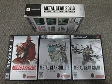 Metal Gear Solid: The Essential Collection (Sony PlayStation 2, 2008) ALL CIB