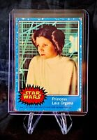 1977 STAR WARS - Topps Original Blue Series 1 Card # 5 - Princess Leia Organa