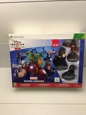 XBOX 360 GAME * DISNEY INFINITY 2.0 MARVEL SUPER HEROES STARTER PACK * BOXED