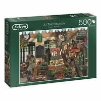 Falcon de luxe At The Station Jigsaw Puzzle - 500-Piece