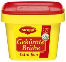 (1000g=10,75€) Maggi Gekörnte Brühe - Extra Fein - 1 kg - für 62,5 Liter Brühe