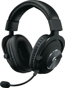 Logitech G Pro X Gaming Wired Headset 981-000817 with Blue Voice Technology PC