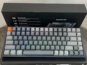 Keychron K2 Wireless Bluetooth/Wired Gaming Mechanical Keyboard 84 Keys RGB LED