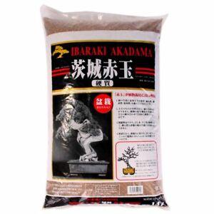 Bonsaï-terre Akadama 5-10 MM Ibaraki Dur 2 Litre