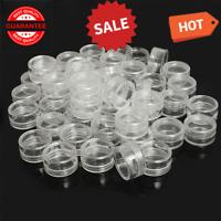 Bead Storage Container Plastic Jewelry Case Stackable Organizer Box 50pcs Set
