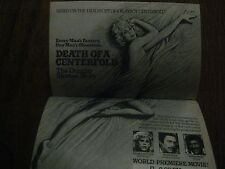 1981 TV Guide(DOROTHY  STRATTEN/JAMIE  LEE CURTIS/DEATH OF A CENTERFOLD/CODE RED
