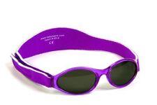 Kidz Banz PURPLE Sunglasses 100% UV Protection Boys Girls 2-5 Year Value #000116