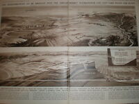 Suggested Qattara Hydro Electric scheme for Egypt D Macpherson 1933 old prints