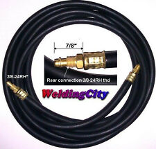 TIG Welding Power Cable Gas Hose 57Y03R Rubber 25' Torch 9/17 | US Seller Fast
