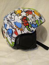 Smith Helmet Snow Ski Snowboard Dinosaurs Boys Youth Small 48-53cm