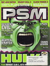PSM April 2003 HULK, Resident Evil: Dead AIM, Time Crisis 3 w/ML VG 070816DBE2