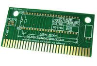 Contacts or SEGA Megadrive cartouche de jeu PCB de remplacement ROM