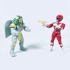 MMPR Power Rangers Karate Kick Red Ranger King Sphinx Vintage Bandai 1993/94