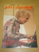 JAZZ JOURNAL INTERNATIONAL VOL 40 #3 1987 MARCH MARIAN MCPARTLAND AL SEARS