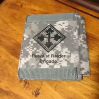 4th Infantry Division, 1st Brigade Army ACU Camo WALLET ID Holder Camoflauge New