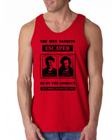 392 Wet Bandits Tank Top funny home christmas movie alone 90s marv harry new