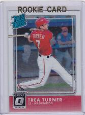 TREA TURNER ROOKIE CARD Donruss Optic RC Baseball Washington Nationals Star!
