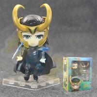 Nendoroid 866 # Thor Ragnarok LOKI PVC Figura de juguete 9cm Nuevo en caja