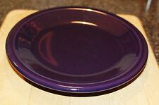 New With Tag Fiesta Ware Dark Purple Salad/Dessert Plate New