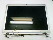 "SONY VGN-CR220E 14.1"" WXGA GLOSSY LCD SCREEN Complete Assembly Hinges"