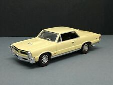 1965 PONTIAC GTO ADULT COLLECTIBLE 1/64 SCALE LIMITED EDITION TRI-POWER MUSCLE