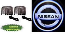 Kit Luci Logo Proiettore Cortesia NISSAN sottoporta Led Cree 5W 12V Universale**