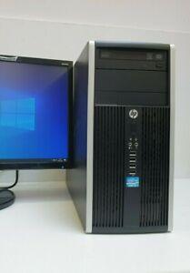 HP Home Office PC i5-3470 3,20GHz Neu 256GB SSD 8GB Windows 10 Pro Büro Computer