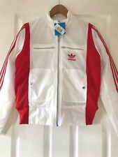 Brand New Womens White & Red Adidas Padded Jacket | Size 10