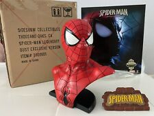 Sideshow Legendary Scale Bust Spiderman EXCLUSIVE Bust Marvel