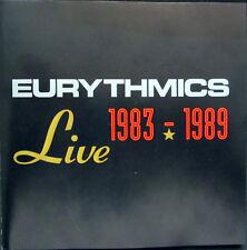 DCD / EURYTHMICS / LIMITED EDITION / RARITÄT / LIVE 1983-1989 /