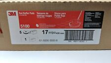 3m Red Buffer Pad 5100 17 5case Lot Of 1 Commercial Floor Cleaning
