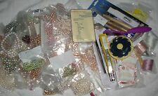 HUGE LOT OF SWAROVSKI PEARLS AND JEWELRY MAKING ACCESSORIES