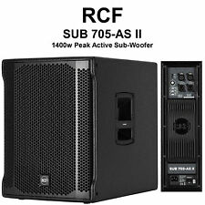 "RCF SUB 705-AS II leichte 1400w Peak Active 15"" Subwoofer"