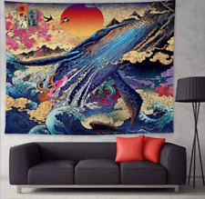 Fashion Printed Tapestry Wall Hanging Mats Bedspread Blankets Bedroom Decor OZ