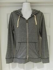 Grey Hoodie by Next in Size XS Grey/Blue Marl Full Zip Hooded Active Wear