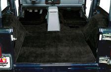Jeep Wrangler TJ Carpet Kit Black Deluxe 1997-2006 13691.01  Rugged Ridge