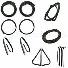 67-70 Ford F-100 Truck Complete Kit Door Gaskets, Vent Seals, Glass Weatherstrip